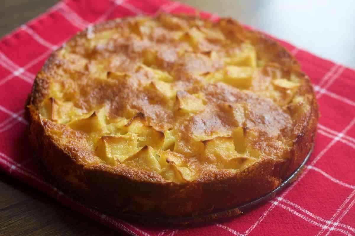 Receta de tarta de manzanas con especias