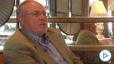 Eduardo Tamayo durante la entrevista con OKDIARIO.