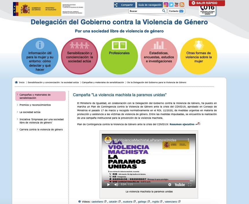 Montero gasta 120.000 € en cambiar de color las letras de la publicidad de Sanidad contra el Covid