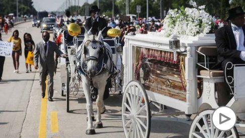 Funeral por George Floyd en Estados Unidos (Foto: AFP)