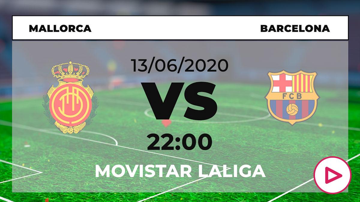 Liga Santander 2019-2020: Mallorca – Barcelona| Horario del partido de fútbol de Liga Santander.