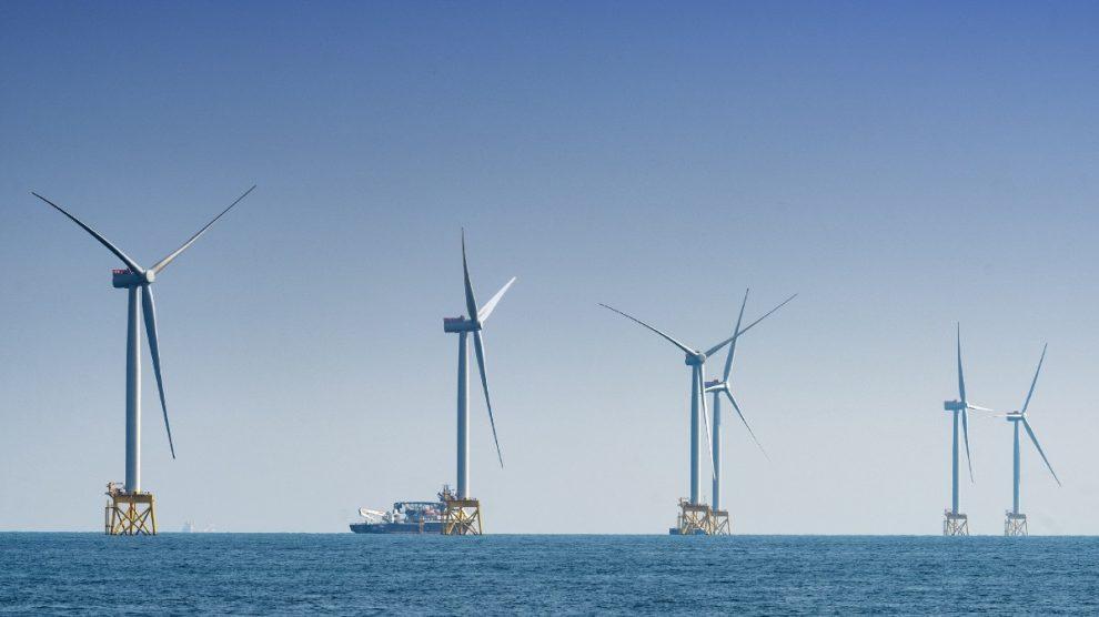 Parque eólico marino East Anglia One (Iberdrola).