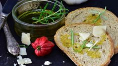 Receta de pan de coliflor y ajo
