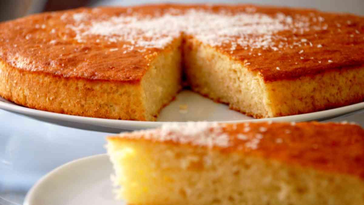 Receta de tarta de coco con ron y especias