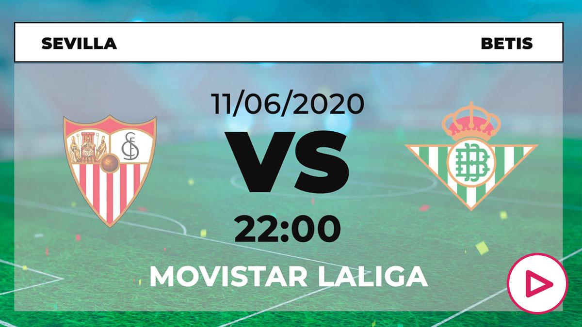 Liga Santander 2019-2020: Sevilla – Betis| Horario del partido de fútbol de Liga Santander.
