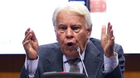 El ex presidente del Gobierno Felipe González. (Foto: Europa Press)