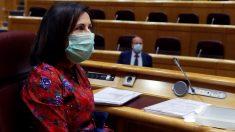 La ministra española de Defensa, Margarita Robles. Foto: EP