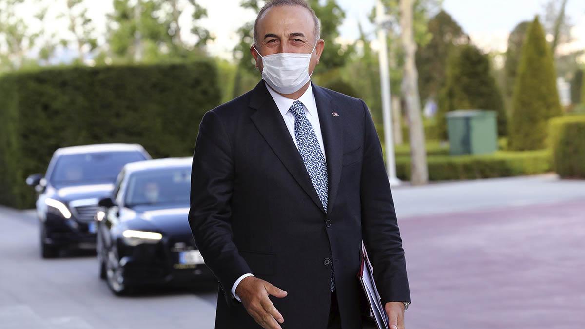Mevlut Cavusoglu, ministro de Exteriores de Turquía.
