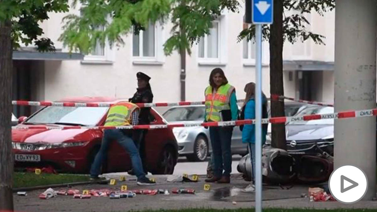 Atropello en Munich