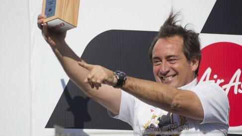 Sito Pons celebra un victoria en Motegi. (Getty)