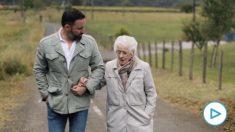 Santiago Abascal y su abuela gallega