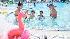 Las piscinas son las grandes protagonistas cuando llega el verano
