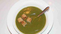 Receta de Crema de kale y espinacas