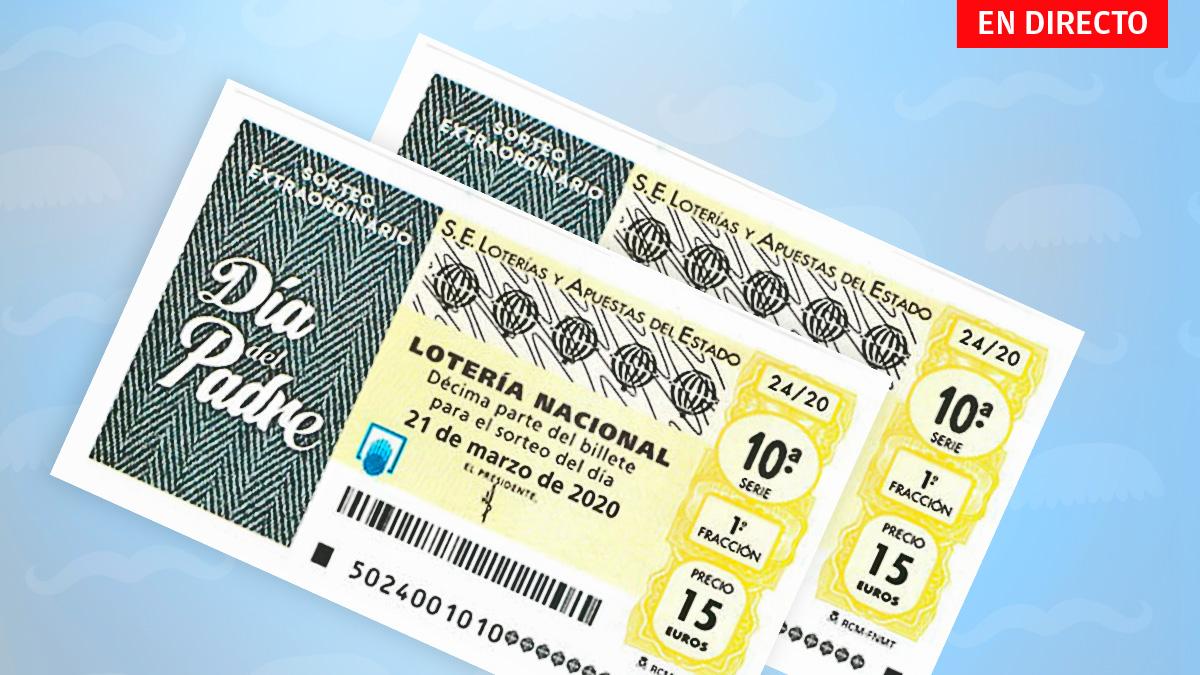 Sorteo Especial del Día del Padre de la Lotería Nacional 2020