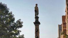 Nueva York protege su estatua de Cristóbal Colón de los manifestantes