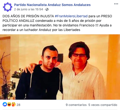 Facebook del PNA.