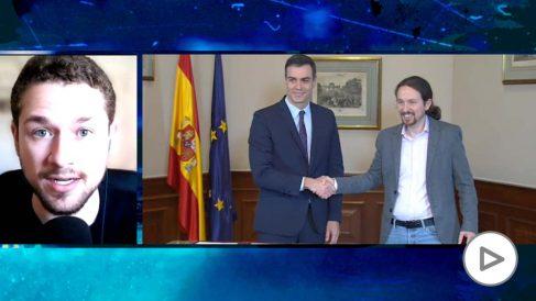 Jano García, autor, La gran manipulación: Cómo la desinformación convirtió a España en el paraíso del coronavirus