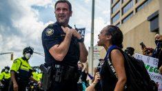 Protestas en la ciudad de Atlanta, en EEUU, por la muerte de George Floyd a manos de la Policía – (Alyssa Pointer/TNS via ZUMA Wire / DPA)