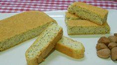 Receta de pan bajo en carbohidratos