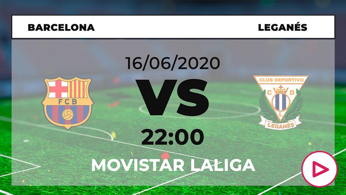 Liga Santander 2019-2020: Barcelona – Leganés| Horario del partido de fútbol de Liga Santander.