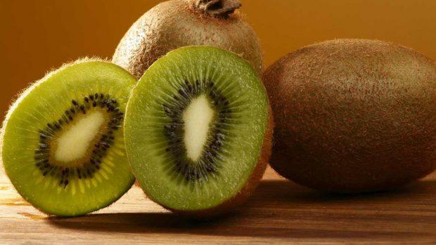 Natillas de kiwi