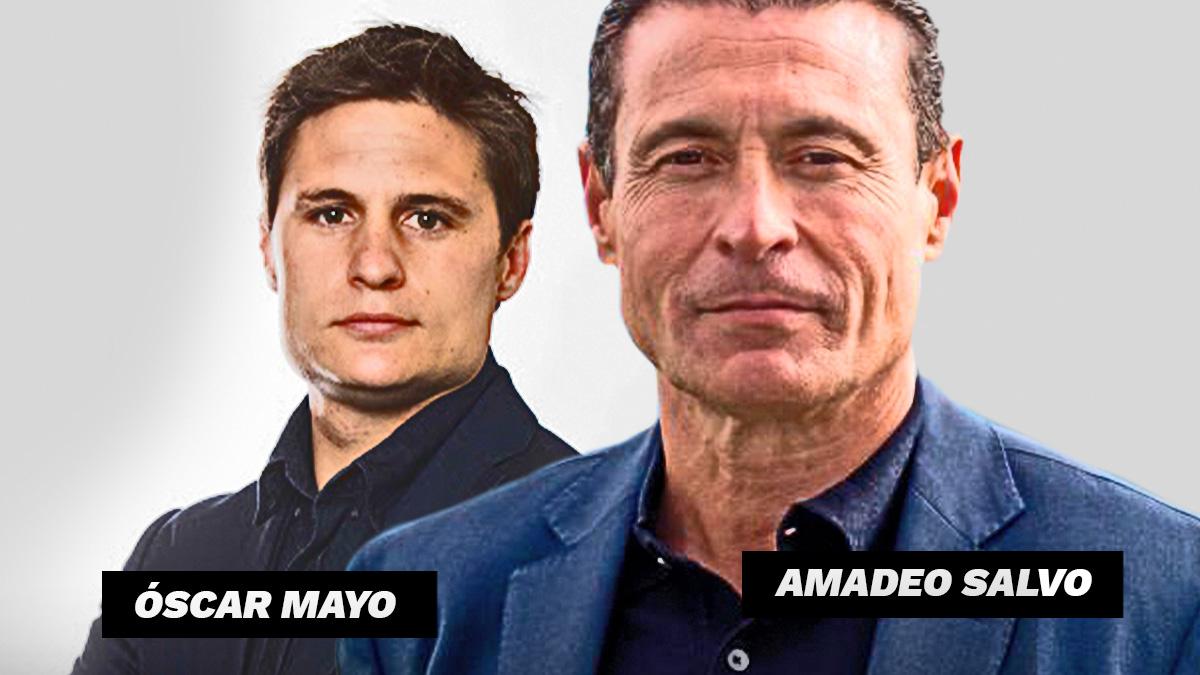 Amadeo Salvo y Óscar Mayo son las alternativas de Tebas.