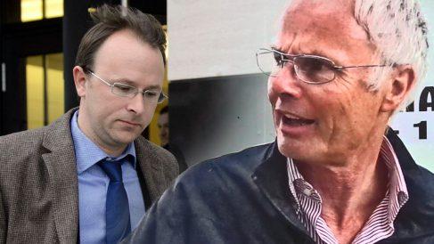 El fiscal suizo Yves Bertossa y Álvaro de Orleans.