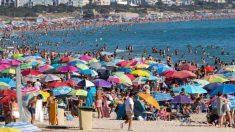 Playa en Andalucía