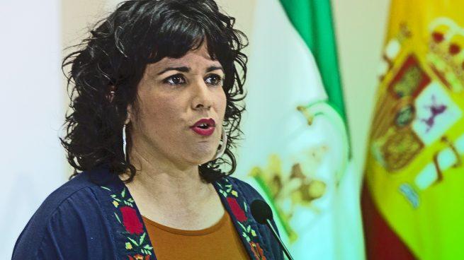 Teresa Rodriguez, ya ex portavoz de Adelante Andalucía.