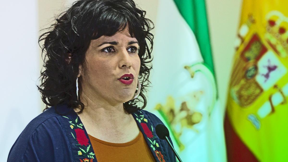 Teresa Rodriguez, expresidenta de Adelante Andalucía.