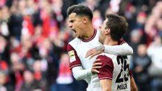 Philippe Coutinho y Müller con el Bayern de Múnich. (AFP)