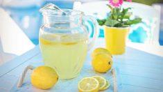 3 Recetas de limonada casera sin alcohol