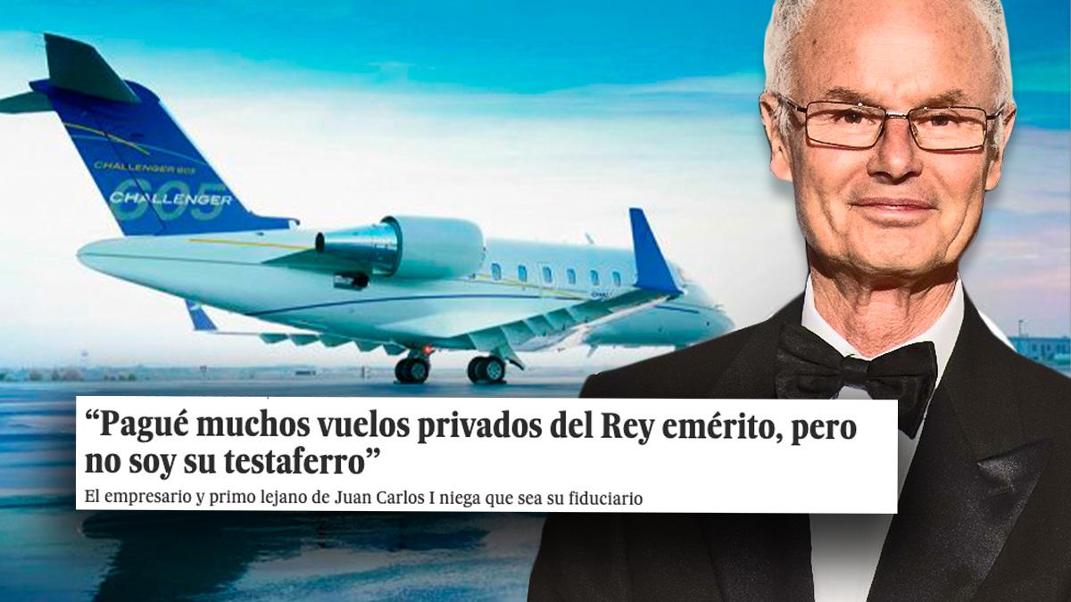 Álvaro de Orleans utilizó al diario El País