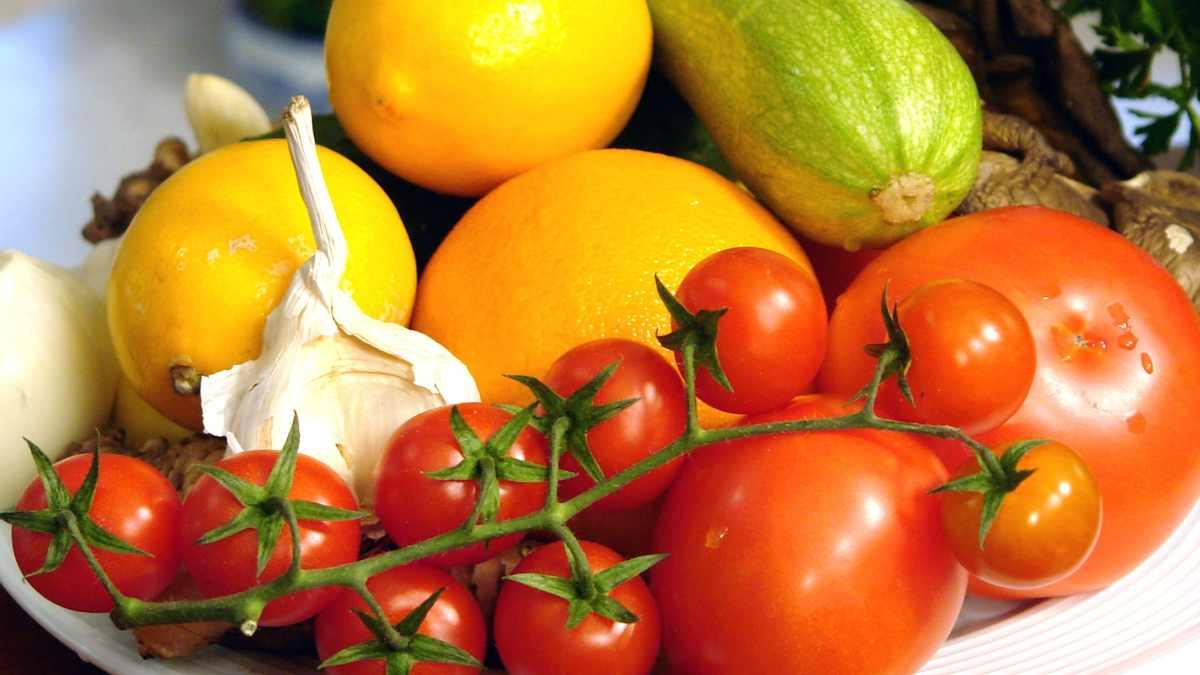 Alimentos de menú para pacientes con cáncer