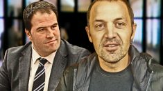 Los diputados de Bildu Jon Iñarritu y Unai Urruzono.