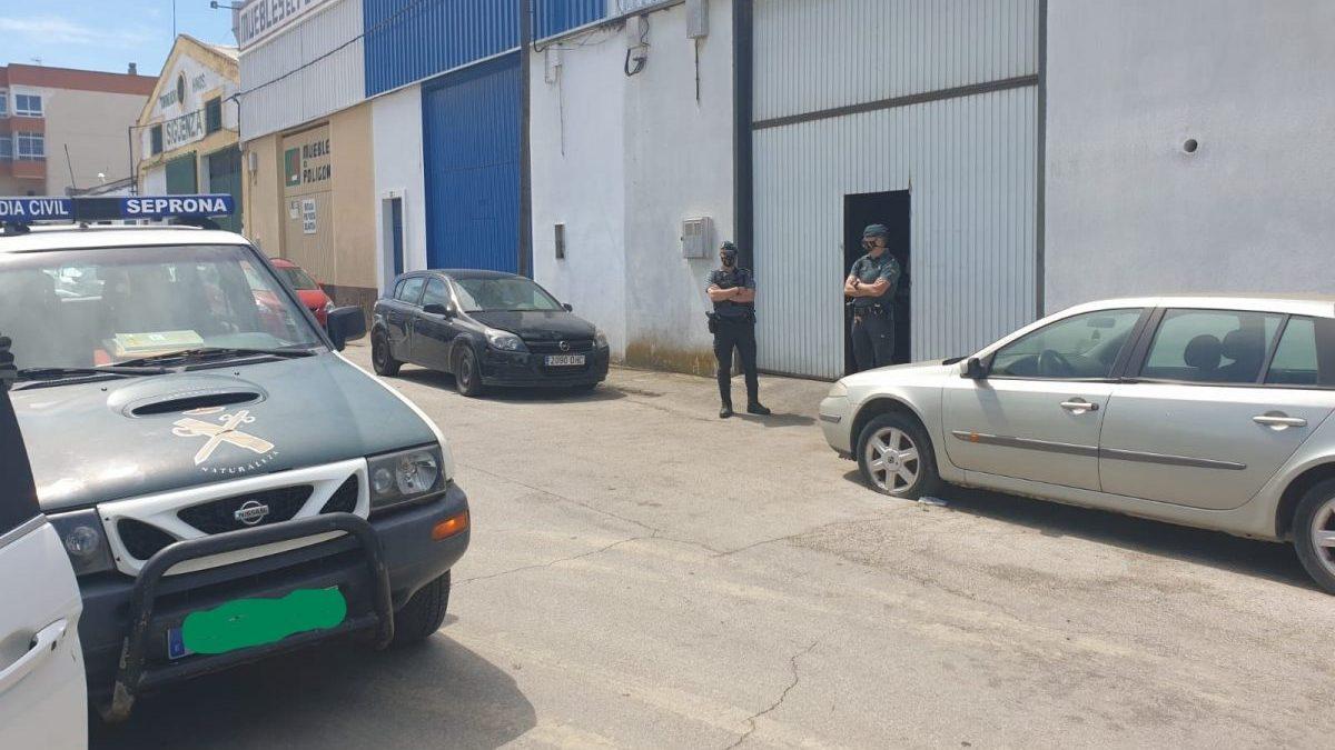 Cádiz.-Sucesos.- Guardia Civil realiza una operación contra el tráfico de droga con 18 detenidos en la provincia