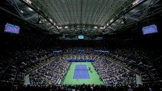 La pista central del US Open. (AFP)