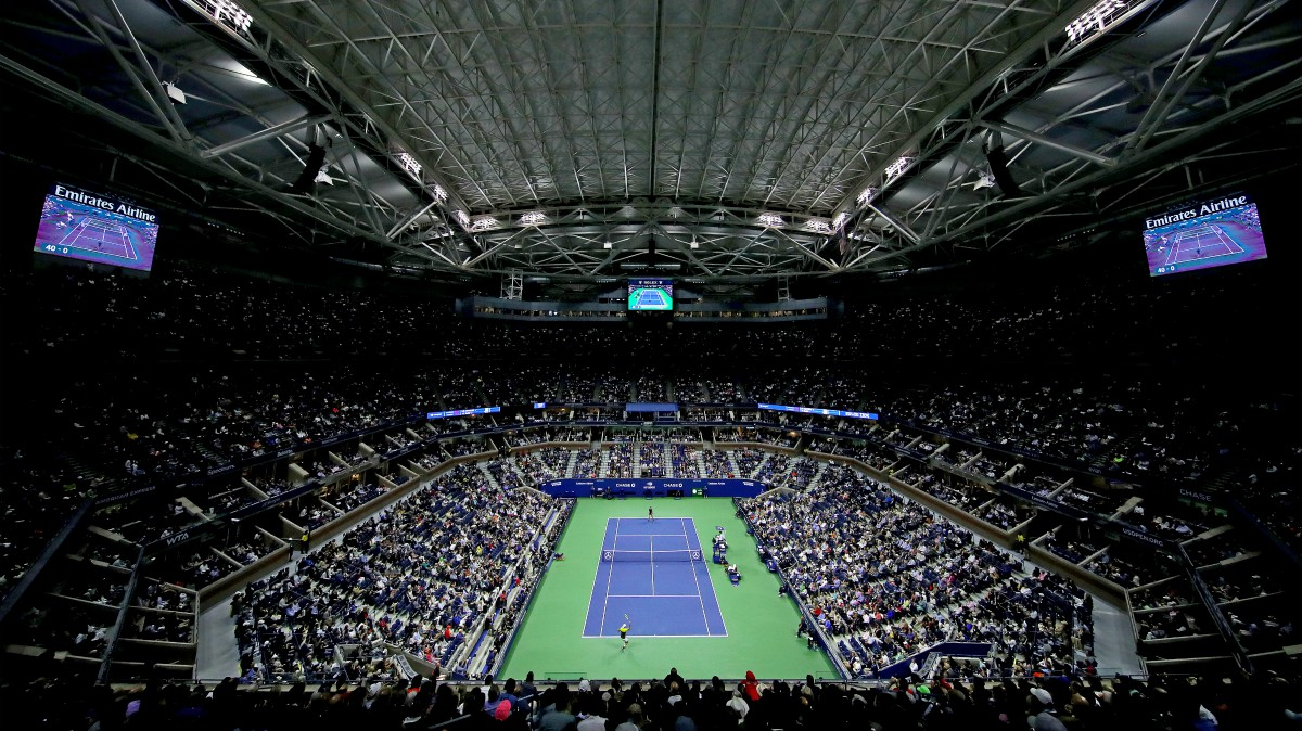 La pista central del US Open. (AFP)