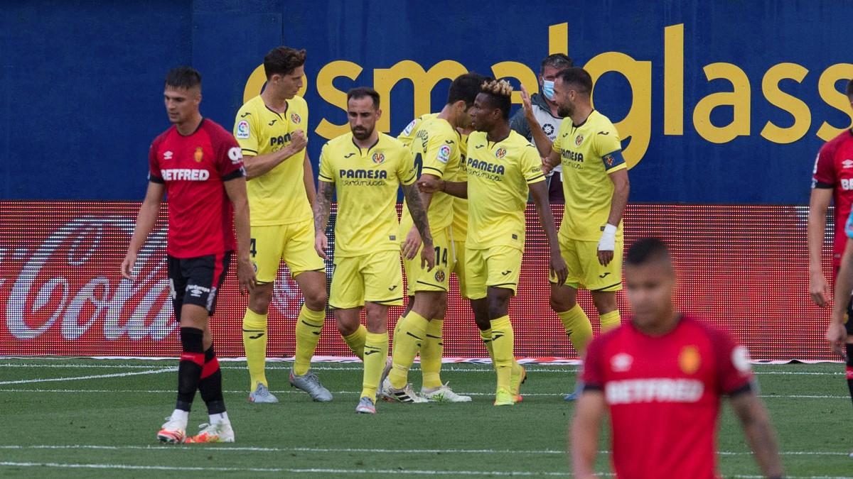 El Villarreal se impuso al Mallorca en La Cerámica. (EFE)