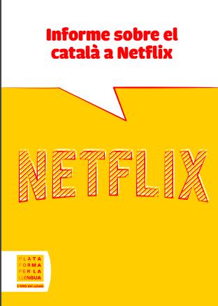 Torra subvenciona un informe contra Netflix por no incluir el catalán en sus series