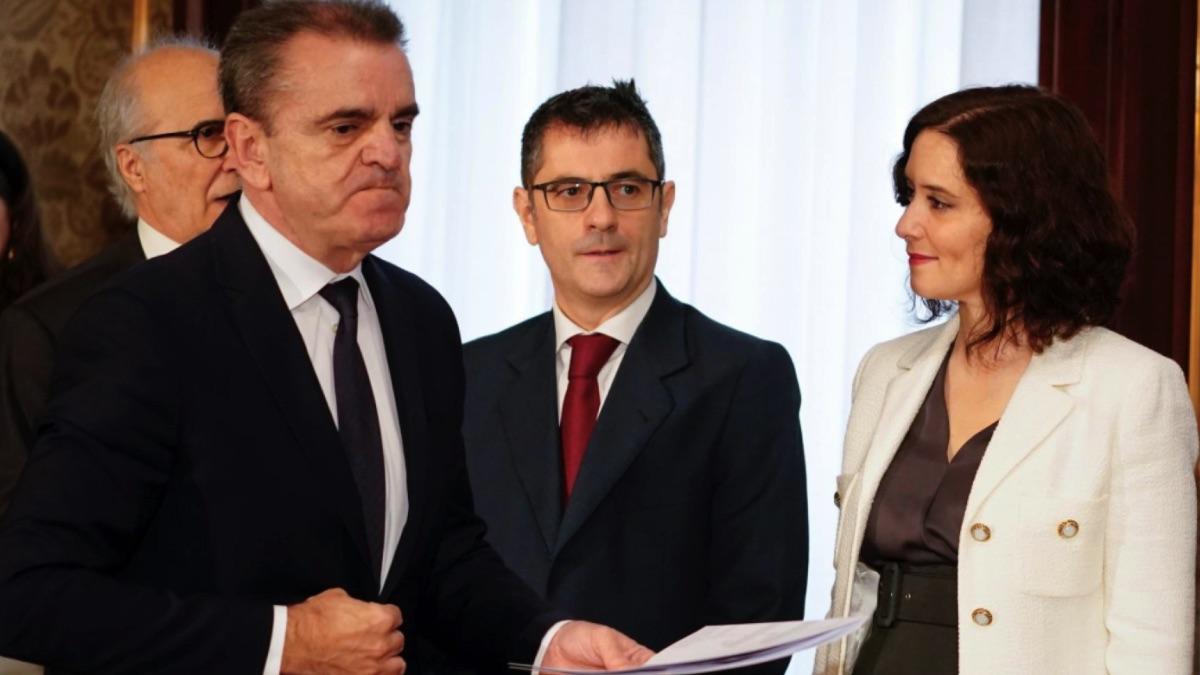 José Manuel Franco con Isabel Díaz Ayuso en imagen de archivo. (Foto: Comunidad)