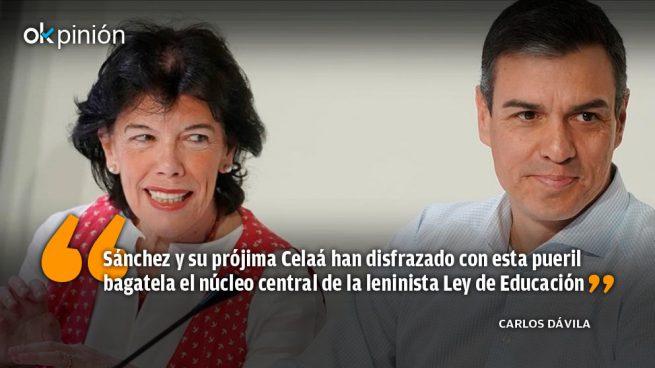 Así es la educación leninista de Sánchez y Celaá