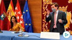 José Luis Martínez-Almeida acusa al delegado del Gobierno de usar «el cargo para desestabilizar a la Comunidad de Madrid».