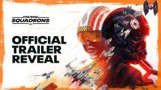 Asi es el tráiler oficial del videojuego Star Wars: Squadrons