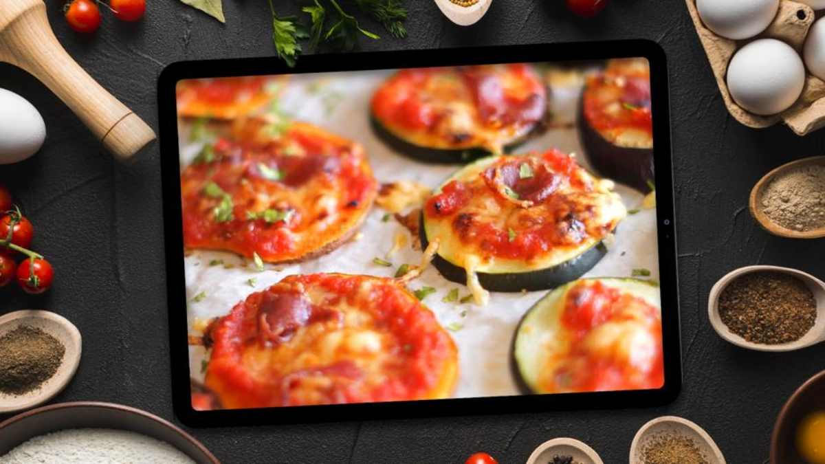 Receta de Mini pizza saludable del Chef Bosquet