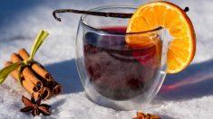 Receta de Té frío de canela y naranja