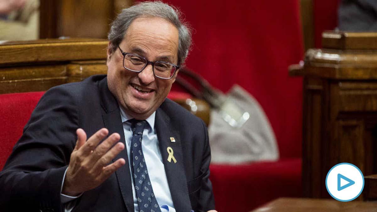 Quim Torra, presidente catalán