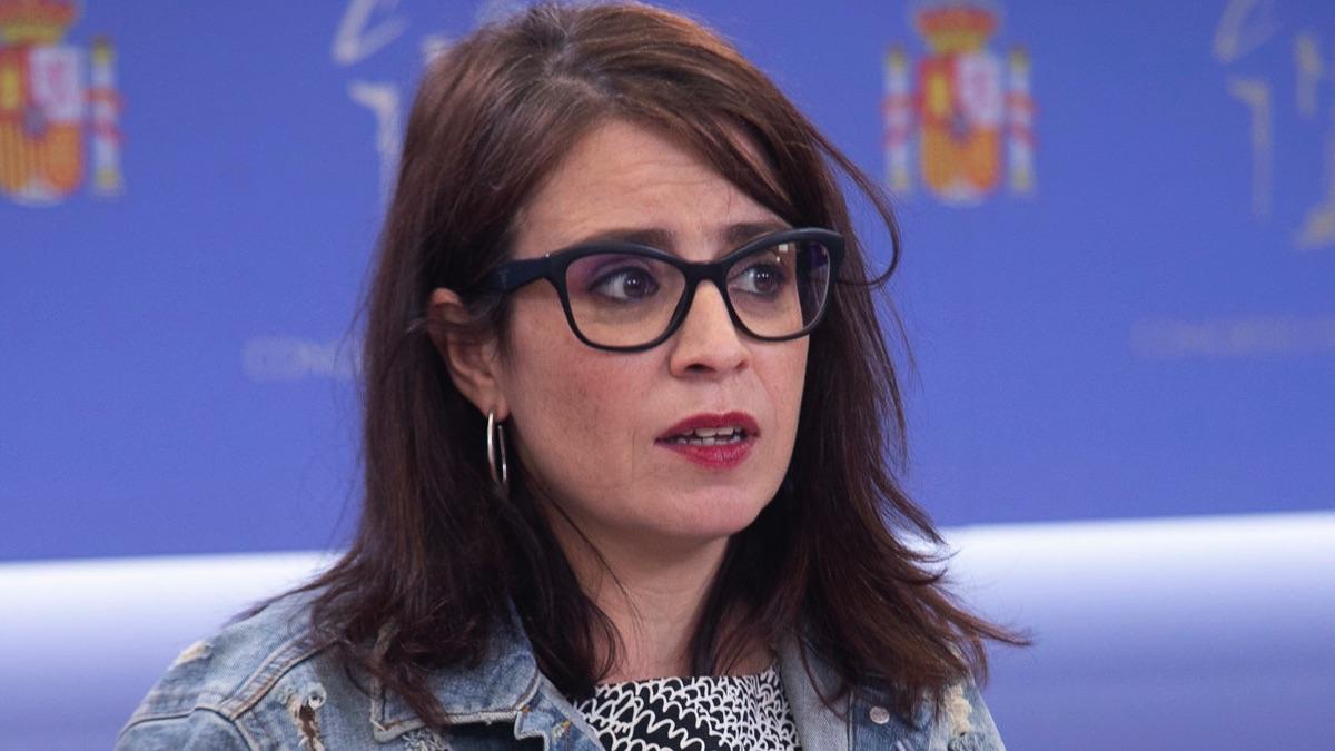 Adriana Lastra, en el Congreso.