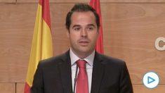 Ignacio Aguado critica que José Manuel Franco use la Delegación del Gobierno para hacer oposición a la Comunidad de Madrid.