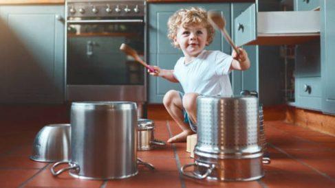 Todos los pasos para hacer un tambor para los niños de forma fácil